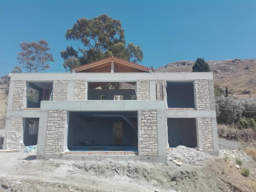 Work in progress in Listaro, Moires area of Heraklion